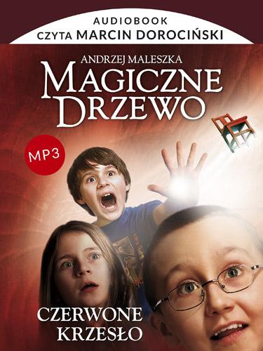 Audiobook. Magiczne Drzewo. Czerwone krzesło - Andrzej Maleszka | okładka
