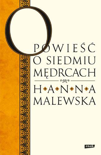 Opowieść o siedmiu mędrcach - Hanna Malewska  | okładka