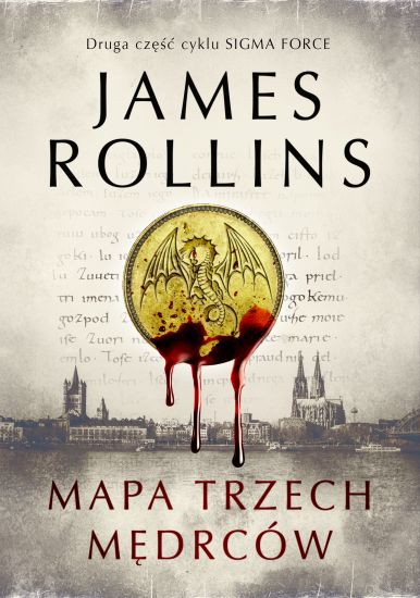 Mapa trzech mędrców - James Rollins   okładka