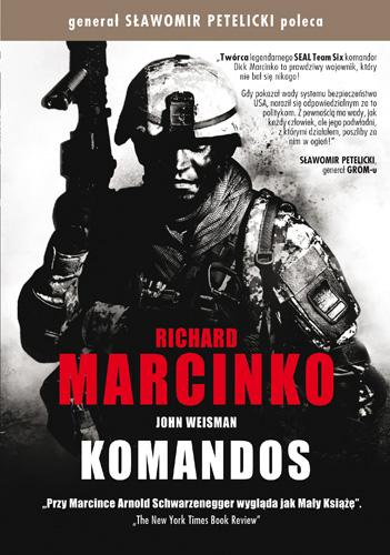 Komandos - Richard Marcinko, John Weisman  | okładka