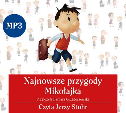 Audiobook. Najnowsze przygody Mikołajka -  | okładka