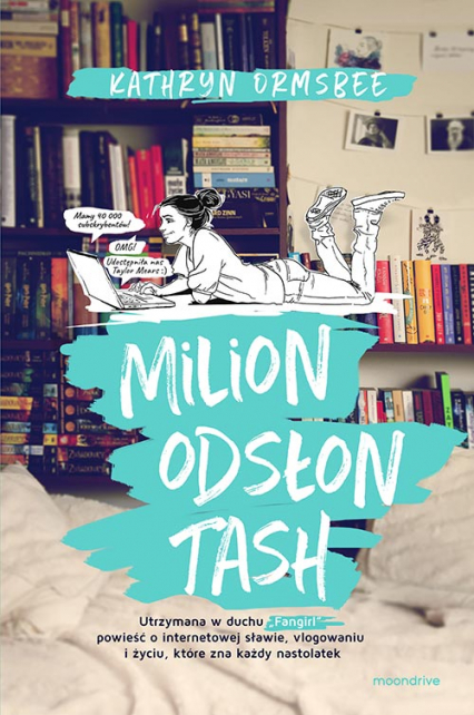 Milion odsłon Tash - Kathryn Ormsbee | okładka