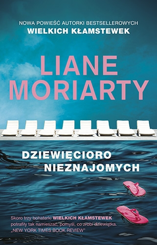 Dziewięcioro nieznajomych - Liane Moriarty | okładka