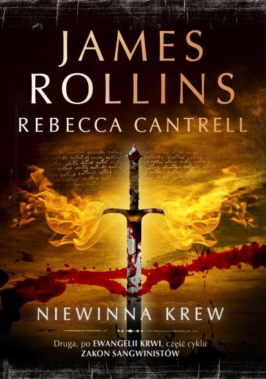 Niewinna krew - James Rollins, Rebecca Cantrell  | okładka