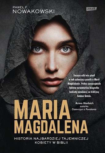 Maria Magdalena - Paweł F. Nowakowski  | okładka