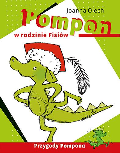 Pompon w rodzinie Fisiów - Joanna Olech  | okładka
