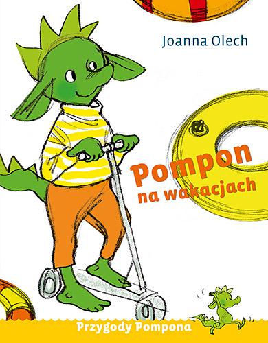 Pompon na wakacjach - Joanna Olech | okładka