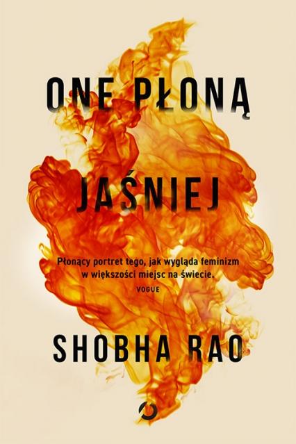 One płoną jaśniej - Shobha Rao | okładka