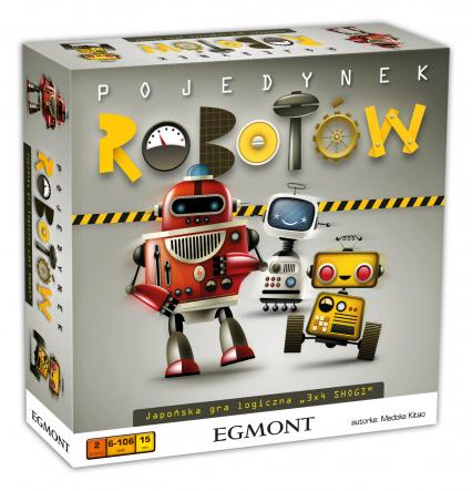 Pojedynek robotów - gra planszowa -  | okładka