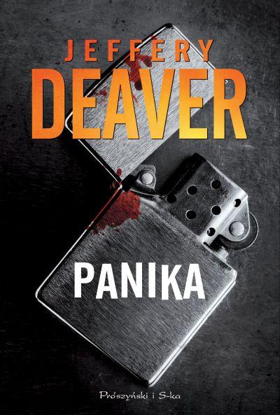 Panika - Jeffery Deaver | okładka