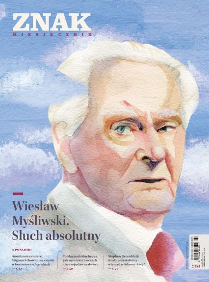 ZNAK 785 10/2020 Wiesław Myśliwski. Słuch absolutny -  | okładka