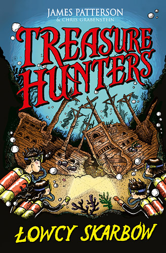 Treasure Hunters. Łowcy skarbów - James Patterson , Chris Grabenstein | okładka