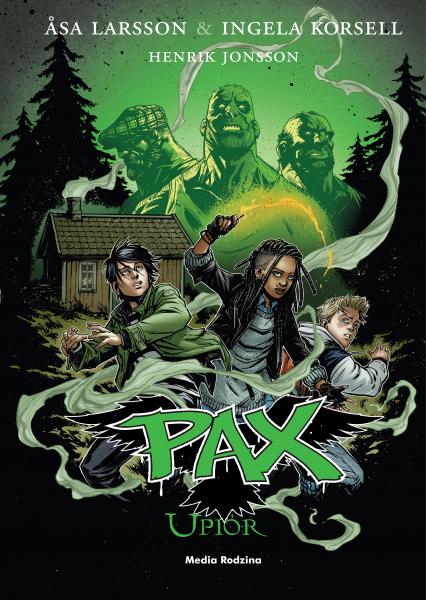 Pax. Upiór - Asa Larsson | okładka