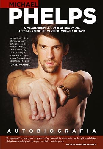 Autobiografia - Michael Phelps  | okładka