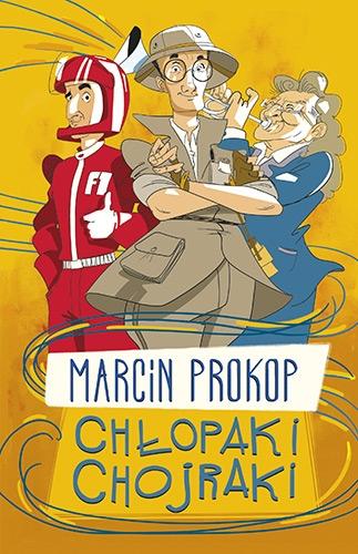 Chłopaki chojraki - Marcin Prokop  | okładka