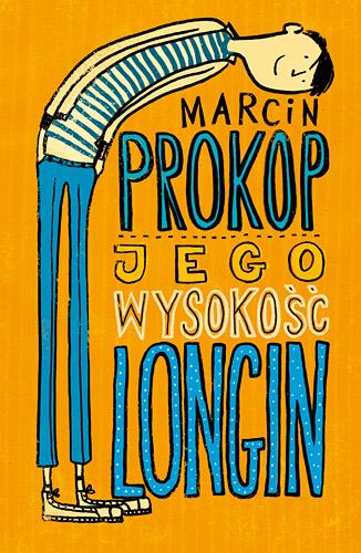 Jego Wysokość Longin - Marcin Prokop | okładka