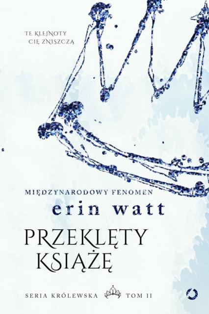 Przeklęty książę - Erin Watt | okładka