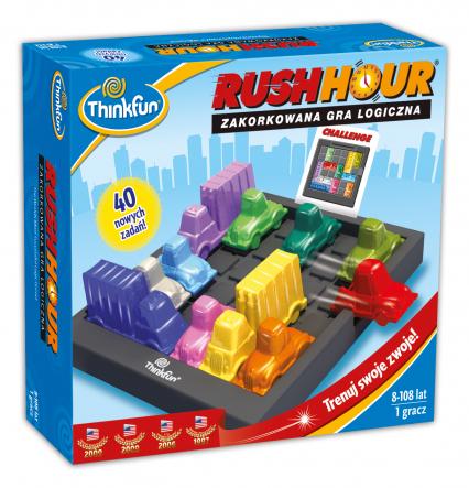 RUSH HOUR – gra planszowa -  | okładka