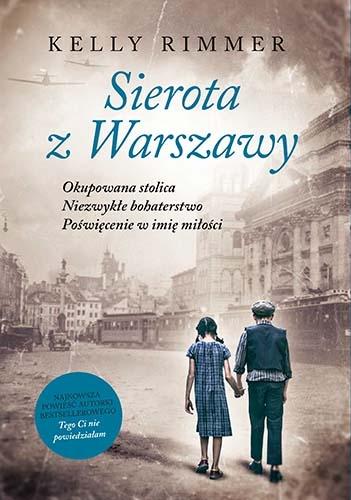 Sierota z Warszawy  - Rimmer Kelly | okładka