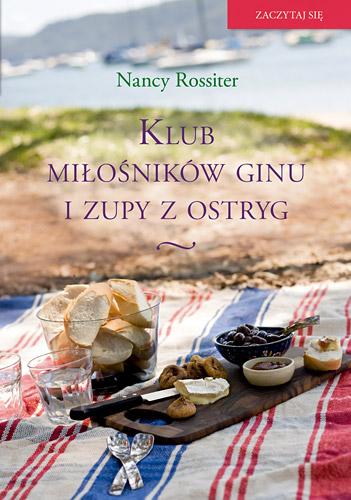 Klub miłośników ginu i zupy z ostryg - Nancy Rossiter | okładka