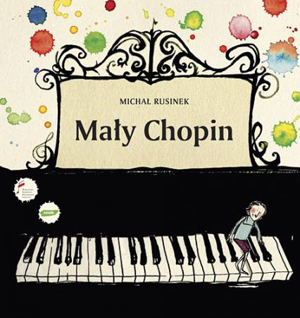 Mały Chopin - Michał Rusinek  | okładka