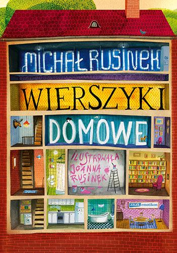 Wierszyki domowe. Sześć i pół tuzinka wierszyków Rusinka - Michał Rusinek  | okładka