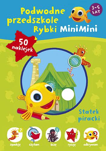 Podwodne przedszkole Rybki MiniMini -  | okładka