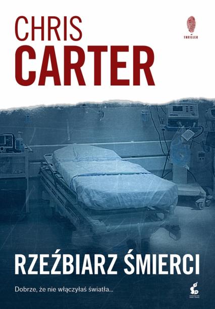 Rzeźbiarz śmierci - Carter Chris | okładka