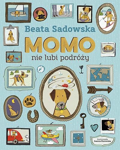 Momo nie lubi podróży - Beata Sadowska | okładka
