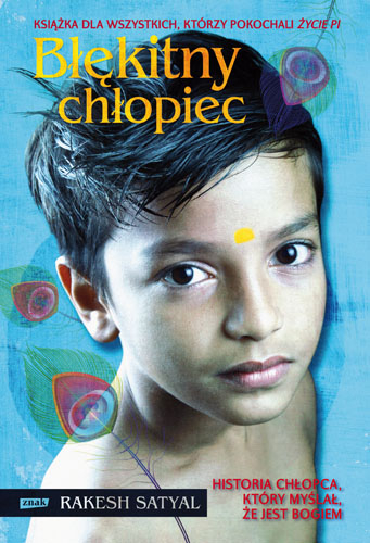 Błękitny chłopiec - Rakesh Satyal   | okładka
