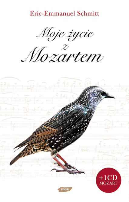 Moje życie z Mozartem - Eric-Emmanuel Schmitt  | okładka