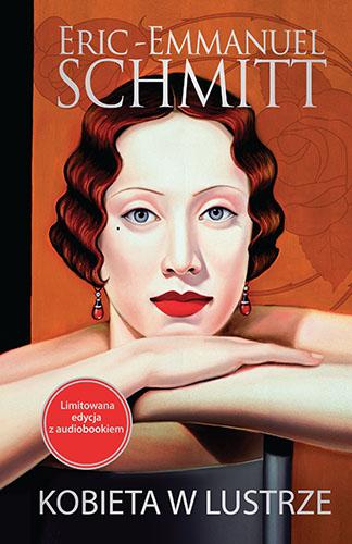 Kobieta w lustrze - Eric-Emmanuel Schmitt  | okładka