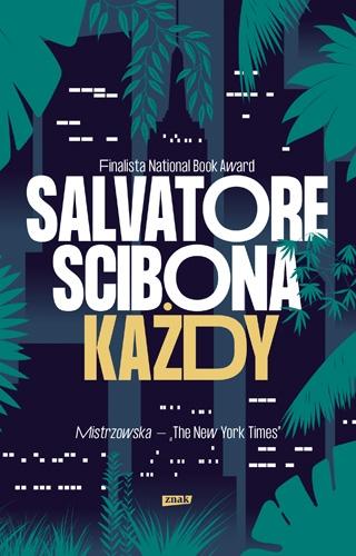 Każdy - Scibona Salvatore | okładka