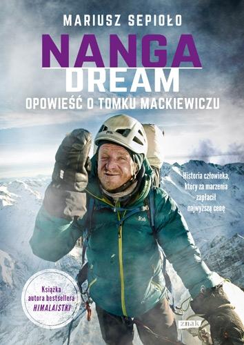 Nanga Dream - Mariusz Sepioło  | okładka