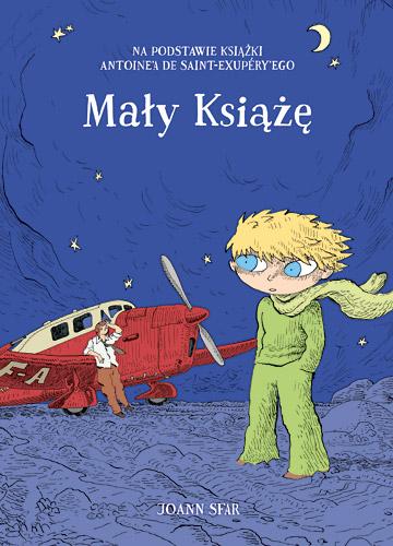 Mały Książę (komiks) - Joann  Sfar  | okładka