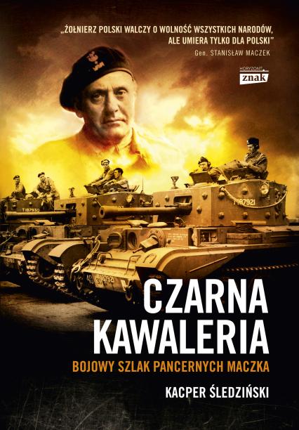 Czarna kawaleria  - Kacper Śledziński | okładka