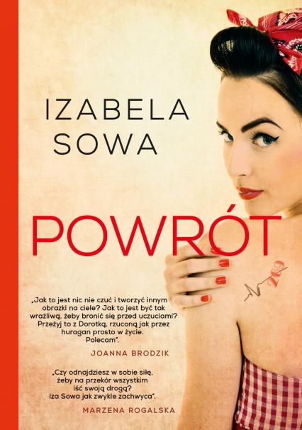 Powrót - Izabela Sowa | okładka