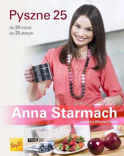 Pyszne 25 - Anna Starmach | okładka