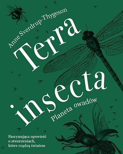 Terra insecta. Planeta owadów - Anne Sverdrup-Thygeson | okładka