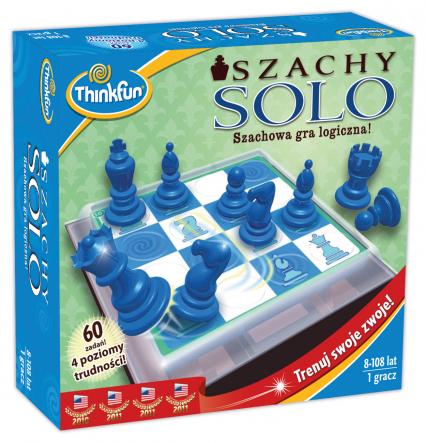 Szachy SOLO - gra logiczna -  | okładka