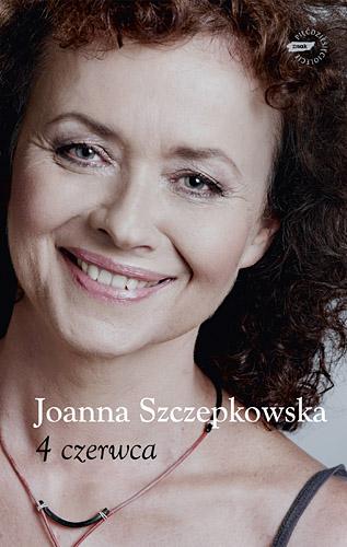 4 czerwca - Joanna Szczepkowska  | okładka