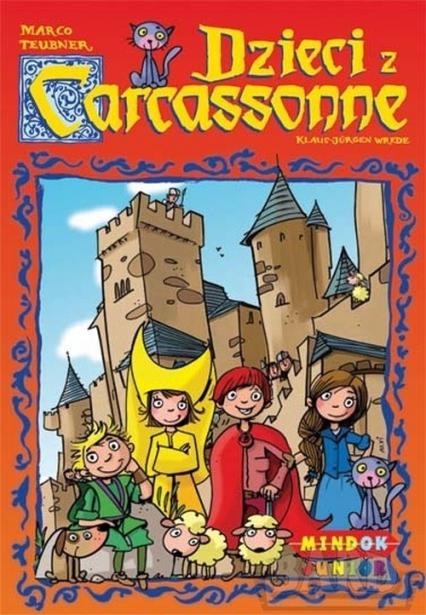 Dzieci z Carcassonne - gra planszowa - Klaus-Jürgen Wrede, Marco Teubner | okładka