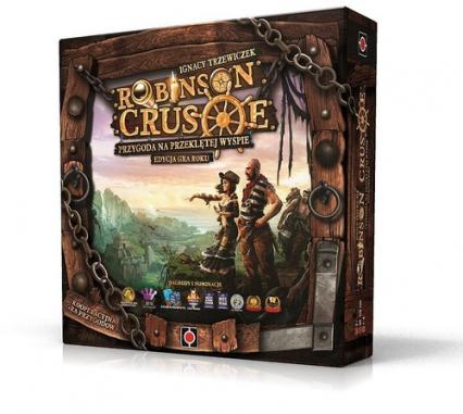 Robinson Crusoe: Przygoda na przeklętej wyspie - gra planszowa
