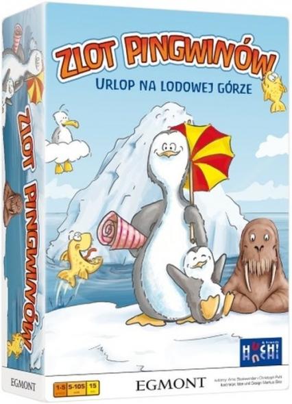 Zlot pingwinów - gra planszowa  - Christoph Puhl, Arno Steinwender | okładka