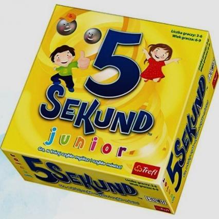 5 sekund Junior - gra planszowa -    okładka