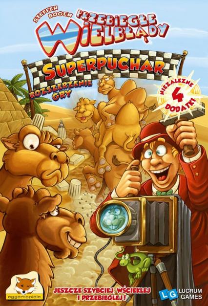 Przebiegłe Wielbłądy: Superpuchar - gra planszowa