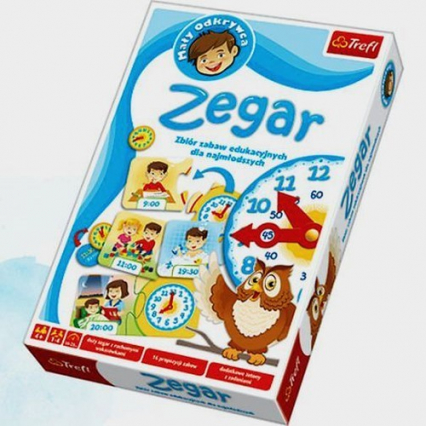 Zegar - gra planszowa -  | okładka