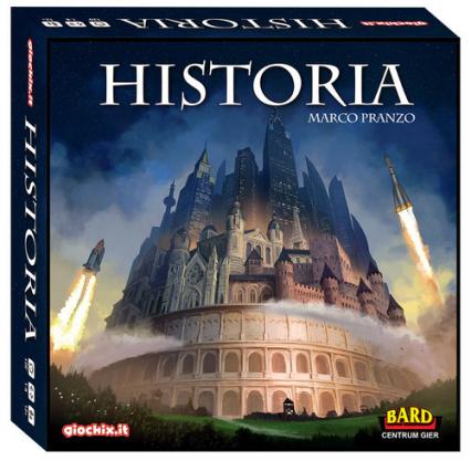 Historia - gra planszowa - Marco Pranzo | okładka