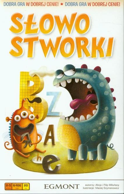 Słowostworki - gra planszowa -  | okładka