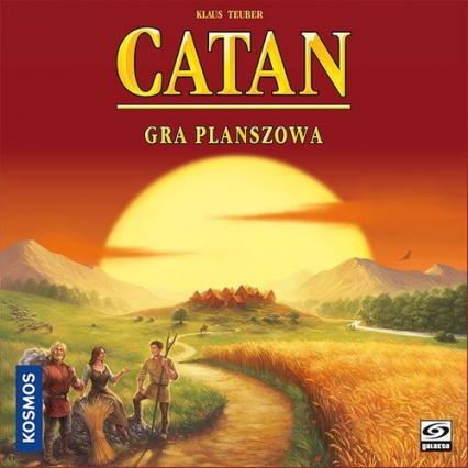 Catan (Osadnicy z Catanu) - gra planszowa - Klaus Teuber | okładka